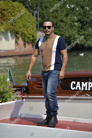 Editorial photo of 77th Venice International Film Festival, Arrivals, Italy - 06 Sep 2020