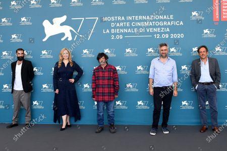 Stock Photo of Salvatore Mereu, Gavino Ledda, Anna Konig, Marco Zucca, Corrado Giannetti