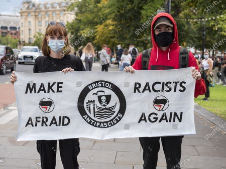 Editorial photo of All Black Lives Comeback March, Bristol, UK - 06 Sep 2020
