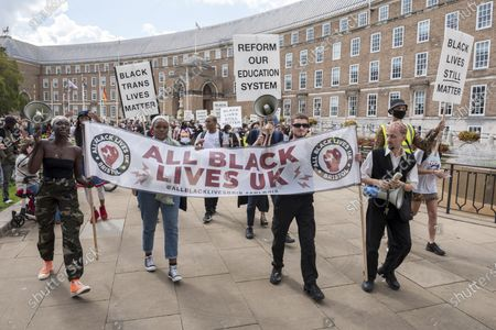 Editorial image of All Black Lives Comeback March, Bristol, UK - 06 Sep 2020