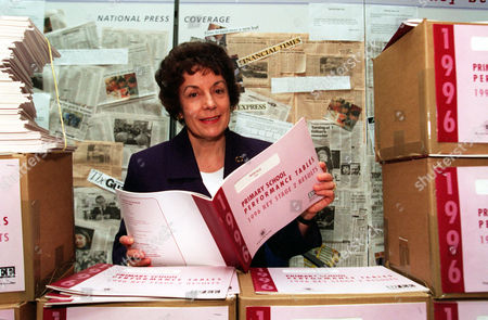 Education Secretary Gillian Shephard (now Baroness Shephard Of Northwold) And School Results