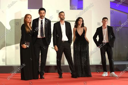 Stock Image of Sabrina Knaflitz, Alessandro Gassmann,Mauro Mancini, Sara Serraiocco, Luca Zunic