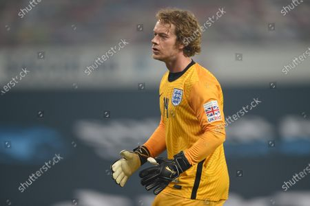 Alfie Allen of England is pictured playing in Soccer Aid for Unicef 2020 at Old Trafford, ManchesterFor further information, please contact Head of Communications Niall Malone niall@socceraidproductions.com© Unicef/SAP/(HAMBURY)20Photographed by Daniel Hambury for Unicef UK and SAP LTD.06/09/2020