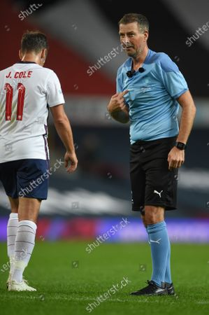 Editorial photo of Soccer Aid, Manchester, UK - 06 Sep 2020
