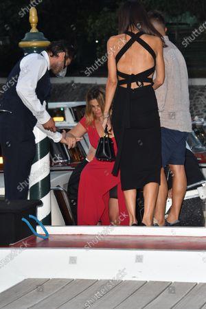 77th Venice Film Festival 2020, Celebrity Excelsior Arrivals. Pictured Vanessa Incontrada