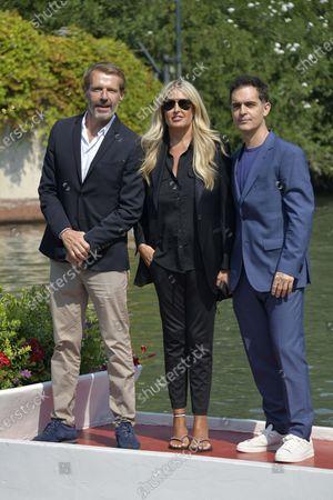 Lambert Wilson, Tiziana Rocca and Pedro Alonso