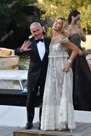 Editorial photo of 77th Venice Film Festival, Arrivals, Italy - 06 Sep 2020