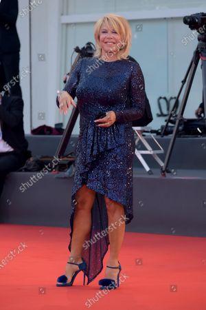Stock Image of 77th Venice Film Festival 2020, Red carpet film The world to come. Pictured: Anna Pettinelli
