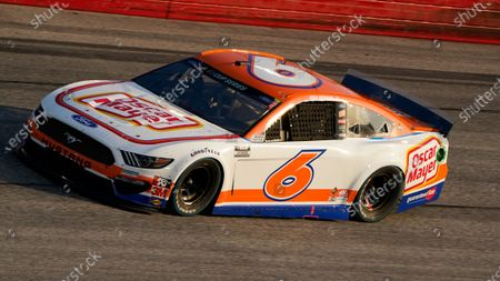 Ryan Newman (6) runs during a NASCAR Cup Series auto race, in Darlington, S.C