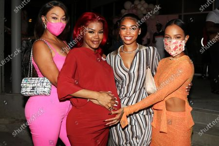 Stock Image of La La Anthony, Teyana Taylor, Lori Harvey and Karrueche Tran