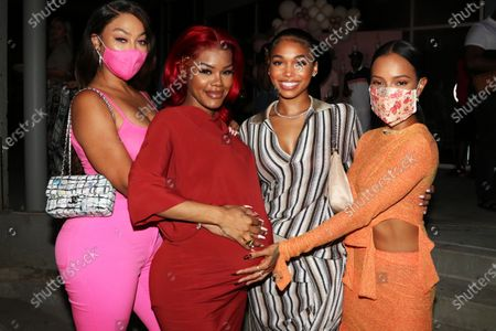 Stock Picture of La La Anthony, Teyana Taylor, Lori Harvey and Karrueche Tran