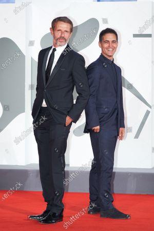 Lambert Wilson and Pedro Alonso