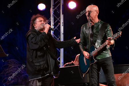 Editorial picture of Enzo Avitabile in concert, Caserta, Italy - 04 Sep 2020