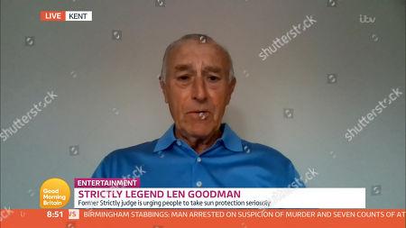 Stock Image of Len Goodman