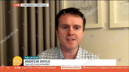 Stock Photo of Andrew Doyle