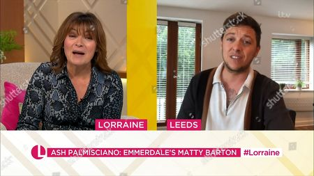 Stock Photo of Lorraine Kelly and Ash Palmisciano
