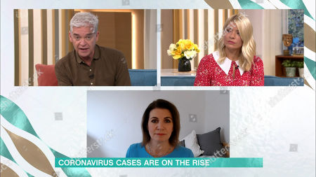 Phillip Schofield, Holly Willoughby and Julia Hartley-Brewer