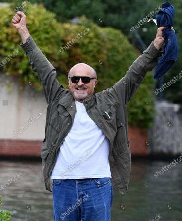 Ivano Marescotti arrives at Lido Beach for the 77th annual Venice International Film Festival, in Venice, Italy, 07 September 2020. The public is barred from the red carpet, and big stars are expected to be largely absent this year. The 77th edition of the festival runs from 02 to 12 September 2020.