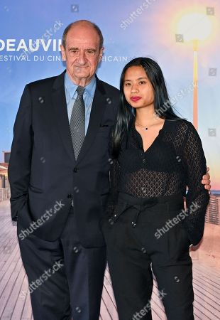 Thierry Fremaux and Anna Lescure