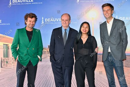 Maxime Switek, Philippe Lezin, Thierry Fremaux and Anna Lescure