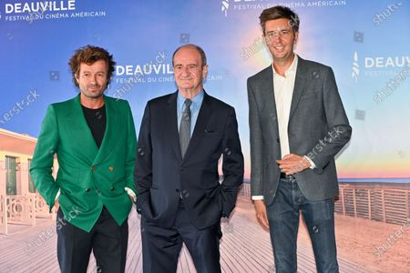 Maxime Switek, Philippe Lezin and Thierry Fremaux