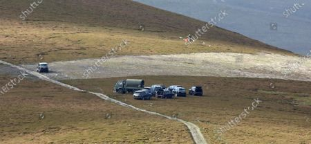 Royal Grouse shoot at Corgarff taken from the A939 public road