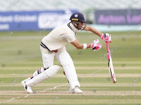 Heino Kuhn of Kent takes a painful blow during Kent CCC vs Hampshire CCC, Bob Willis Trophy Cricket at The Spitfire Ground on 7th September 2020
