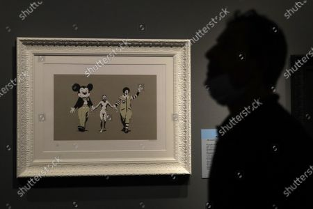 Editorial picture of Banksy Exhibition, Rome, Italy - 07 Sep 2020