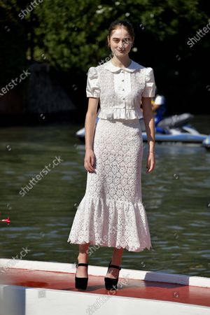 Editorial picture of 77th Venice Film Festival, Arrivals, Italy - 07 Sep 2020