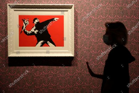 Editorial picture of Banksy, Rome, Italy - 07 Sep 2020