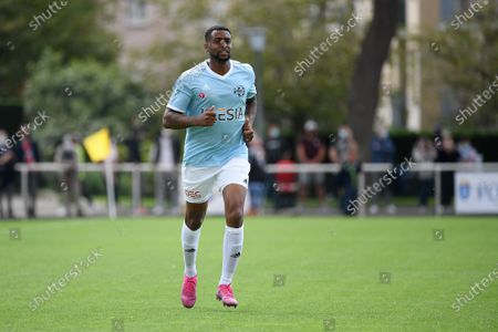 """Frederic Piquionne during a charity match of the """"Variete club de France"""" on sunday september 6, 2020. Poissy. France. PHOTO : CHRISTOPHE SAIDI /  SIPA."""