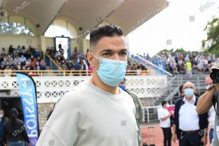 "Hatem Ben Arfa before a charity match of the ""Variete club de France"" on sunday september 6, 2020. Poissy. France. PHOTO : CHRISTOPHE SAIDI /  SIPA."