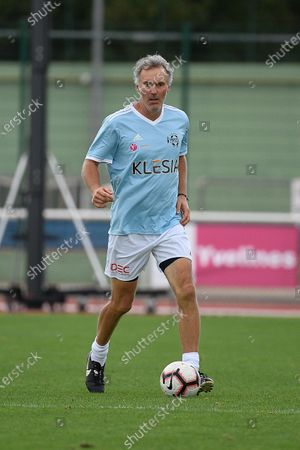 """Laurent Blanc during a charity match of the """"Variete club de France"""" on sunday september 6, 2020. Poissy. France. PHOTO : CHRISTOPHE SAIDI /  SIPA."""