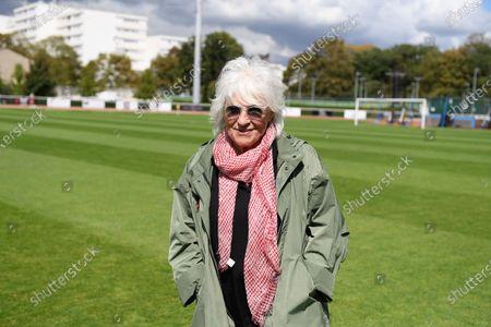 "Catherine Lara before a charity match of the ""Variete club de France"" on sunday september 6, 2020. Poissy. France. PHOTO : CHRISTOPHE SAIDI /  SIPA."