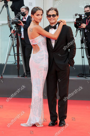 Stock Image of Gabrielle Caunesil and Riccardo Pozzoli