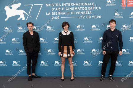 Michal Englert co-director, director Malgorzata Szumowska, Alec Utgoff