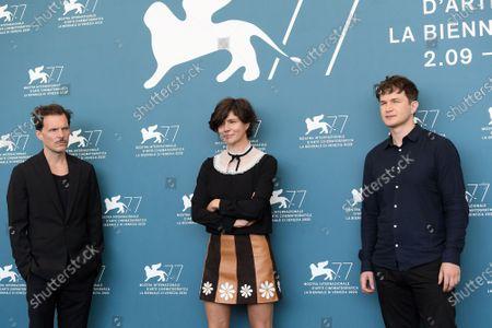 The co-director Michal Englert, director Malgorzata Szumowska, Alec Utgoff