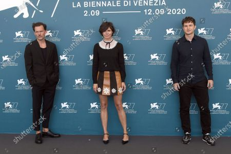 The co-director Michal Englert director Malgorzata Szumowska, Alec Utgoff