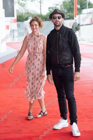Director Alice Rohrwacher and JR