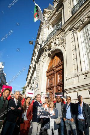 Laurent Delahousse, Gilles Bouleau, Anne-Claire Coudray, Francoise Joly, Christophe Deloire, Daphne Burki, Marie-Laure Augry, Harry Roselmack, Guy Lagache et Bernard de la Villardiere