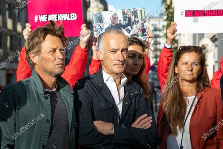 Editorial picture of Reporters rally in support of Algerian journalist Khaled Drareni, Paris, France - 07 Sep 2020
