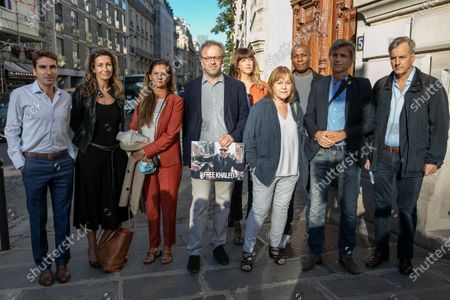 Editorial image of Reporters rally in support of Algerian journalist Khaled Drareni, Paris, France - 07 Sep 2020
