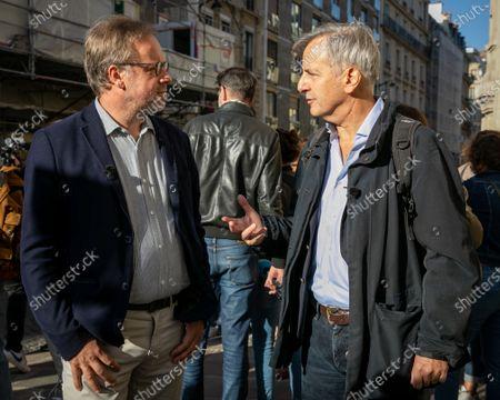 Christophe Deloire et Bernard de la Villardiere