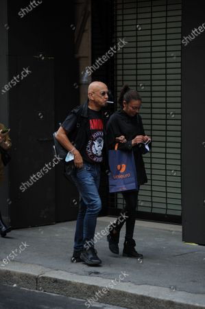 Editorial image of Enrico Ruggeri out and about, Milan, Italy - 07 Sep 2020