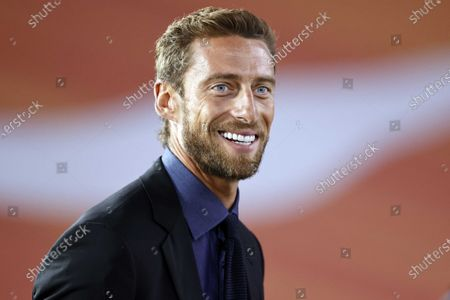 Former Italy international Claudio Marchisio prior to the UEFA Nations League A group 1 soccer match between the Netherlands and Italy at the Johan Cruyff Arena in Amsterdam, The Netherlands, 07 September 2020.