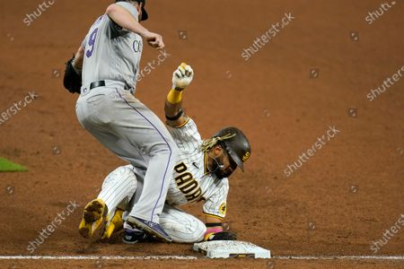 Editorial picture of Rockies Padres Baseball, San Diego, United States - 07 Sep 2020