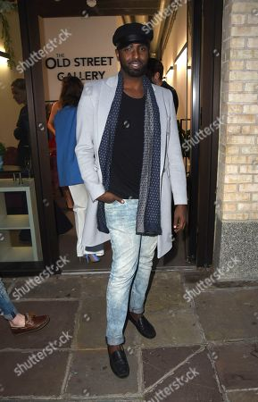 Editorial image of 'Lucid' film premiere, The Old Street Gallery, London, UK - 07 Sep 2020