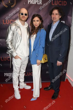 Editorial picture of 'Lucid' film premiere, The Old Street Gallery, London, UK - 07 Sep 2020