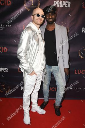 Editorial photo of 'Lucid' film premiere, The Old Street Gallery, London, UK - 07 Sep 2020