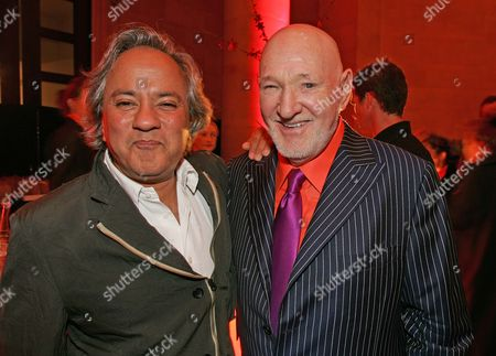 Stock Image of (r - l) Malcolm Morley And Anish Kapoor.
